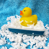Mini Duckie Toy Bath Soap Stocking Stuffer - Stacy's Soap Suds
