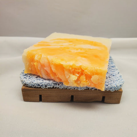 Orange Patchouli Luxurious Handmade Soap - Stacy's Soap Suds