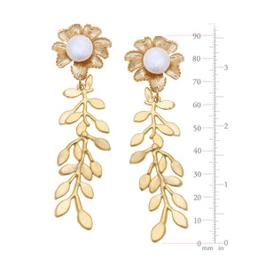 Marigold Vine Earrings