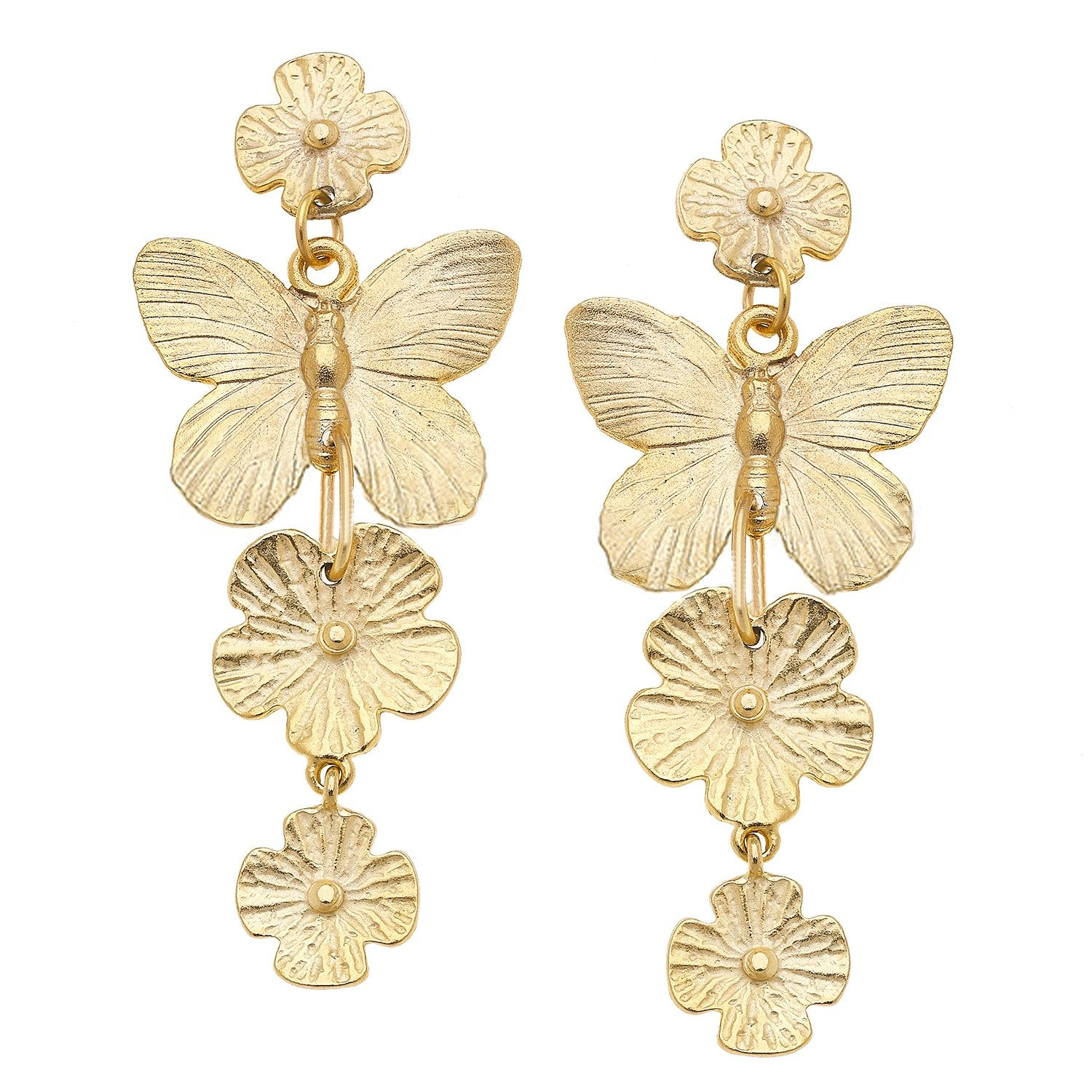 Milly Butterfly Earrings