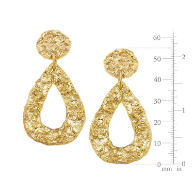 Belle Earrings in Teardrop