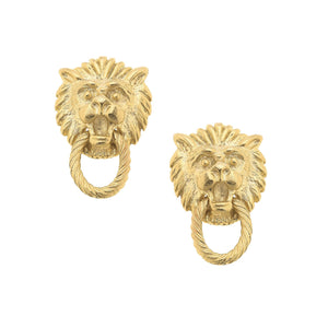 Small Lion Door Knockers