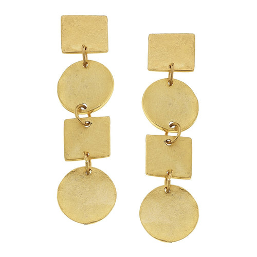 Shape Line Earrings