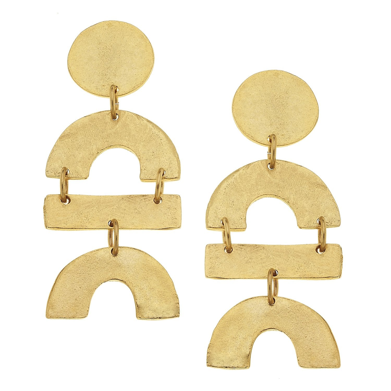 Shape Stack Earrings