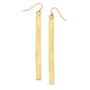 Gold Stick Earrings