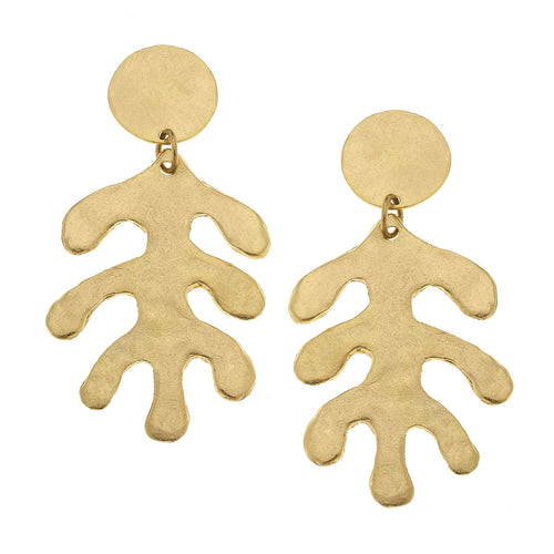 Matisse Leaf Earrings