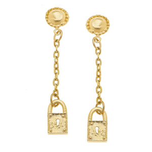 Drop Lock Earrings