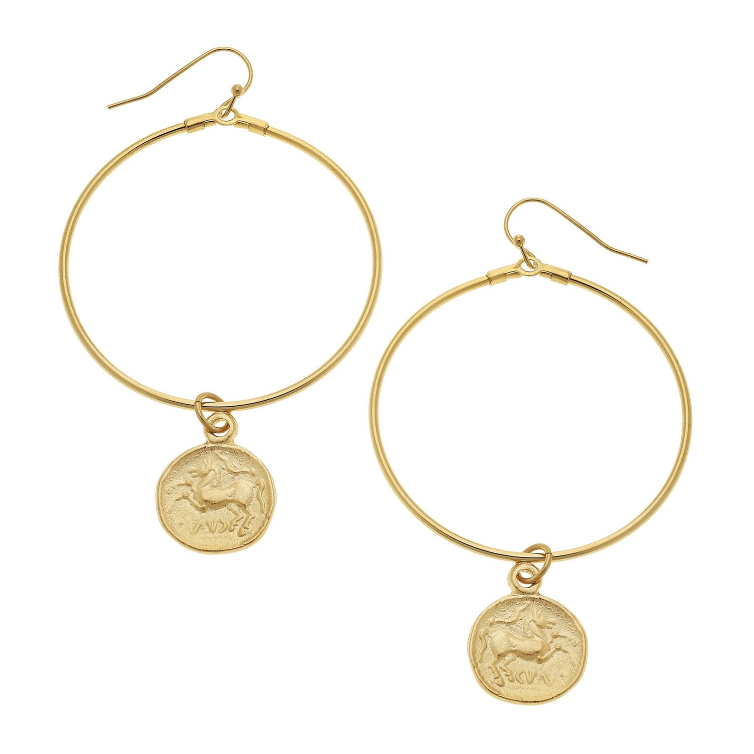 Loop Coin Earrings