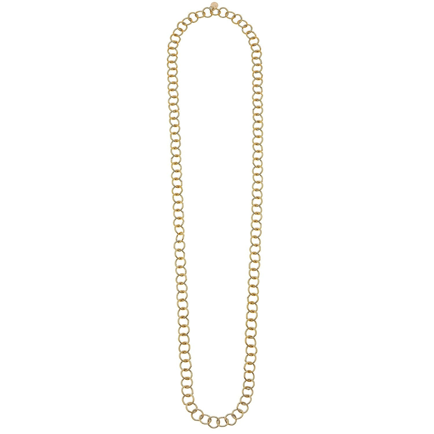 Long Halo Chain Necklace
