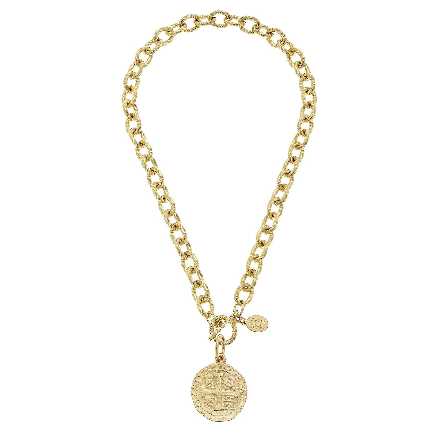 Coin Toggle Necklace