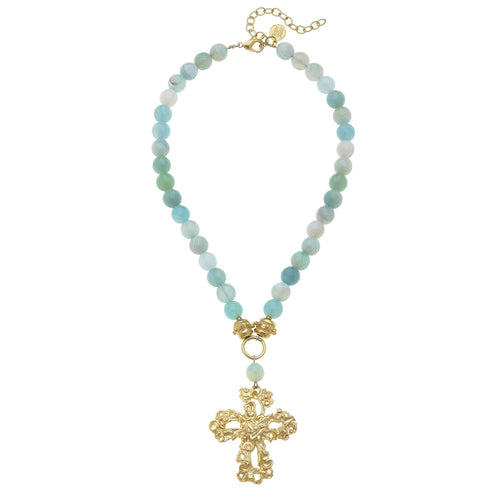 Barcelona Cross Necklace