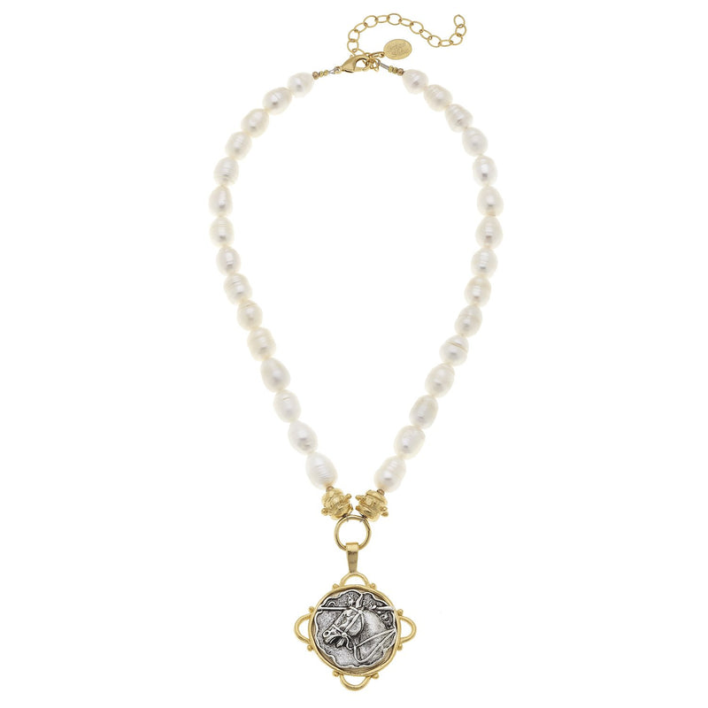 Wild Horse Pearl Necklace