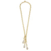 Baroque Pearl Chain Necklace