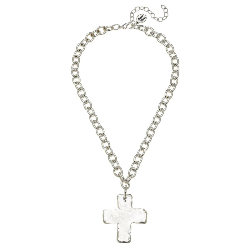 Solid Cross Necklace