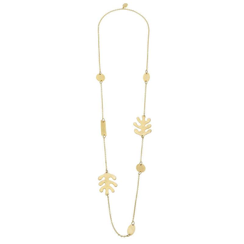 Matisse Leaf Necklace