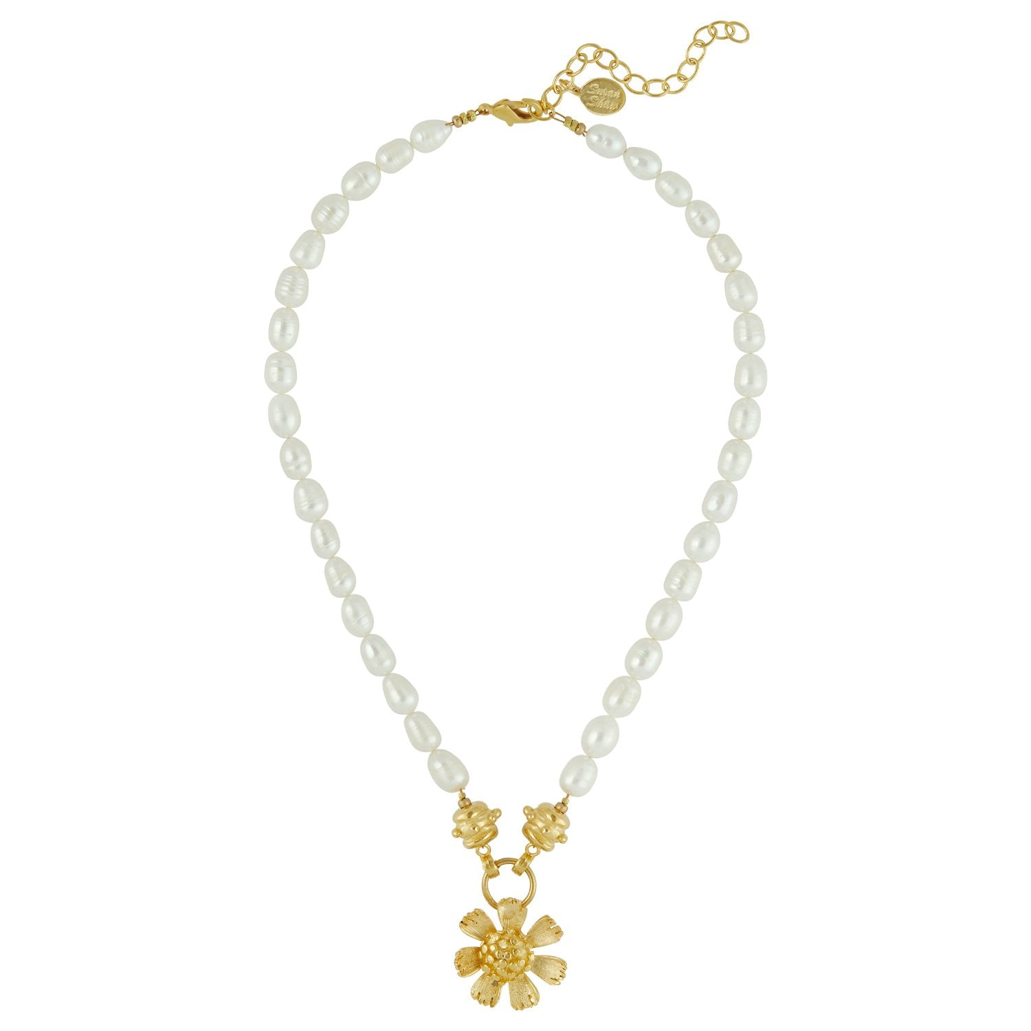 Buttercup Pearl Necklace