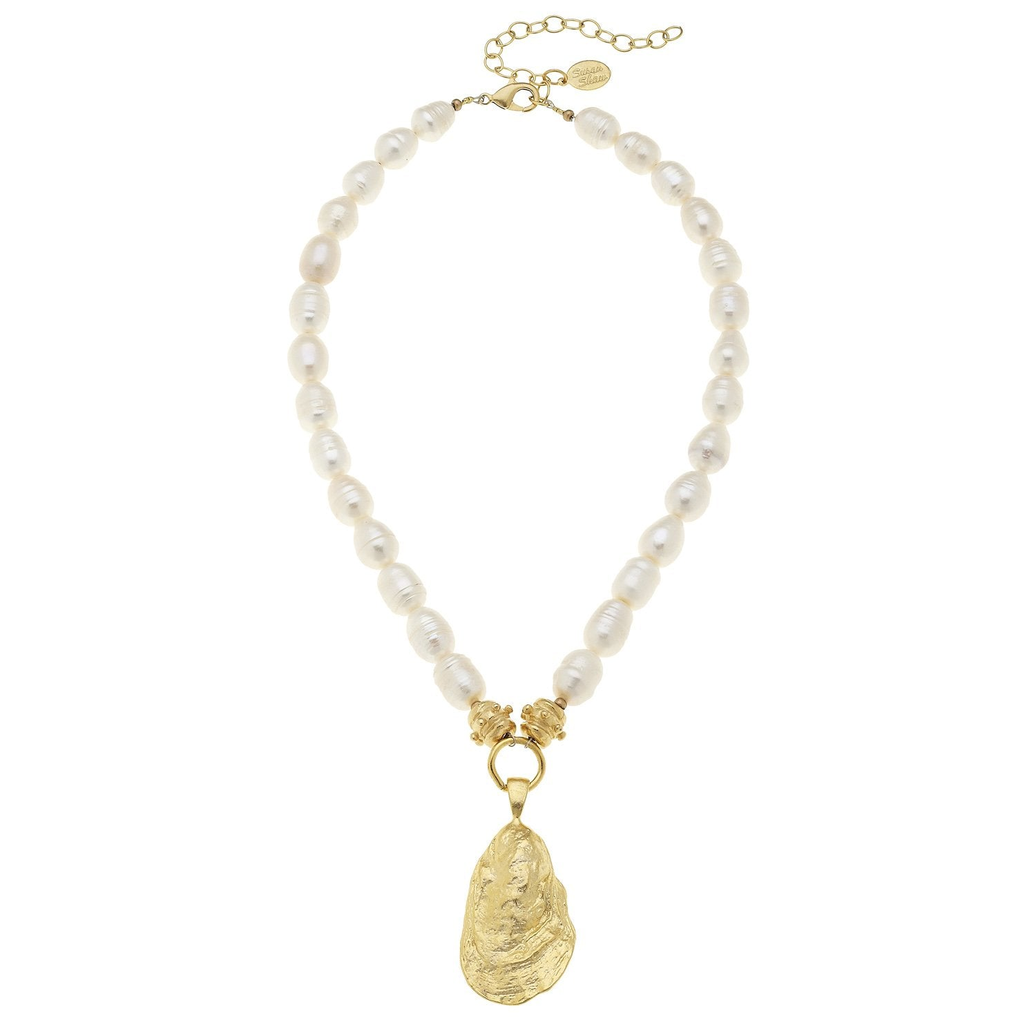 Pearl Oyster Necklace