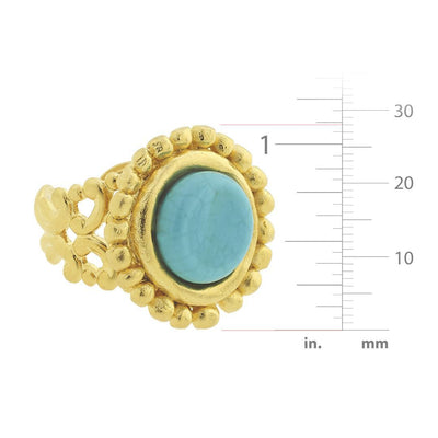Turquoise Cab Ring
