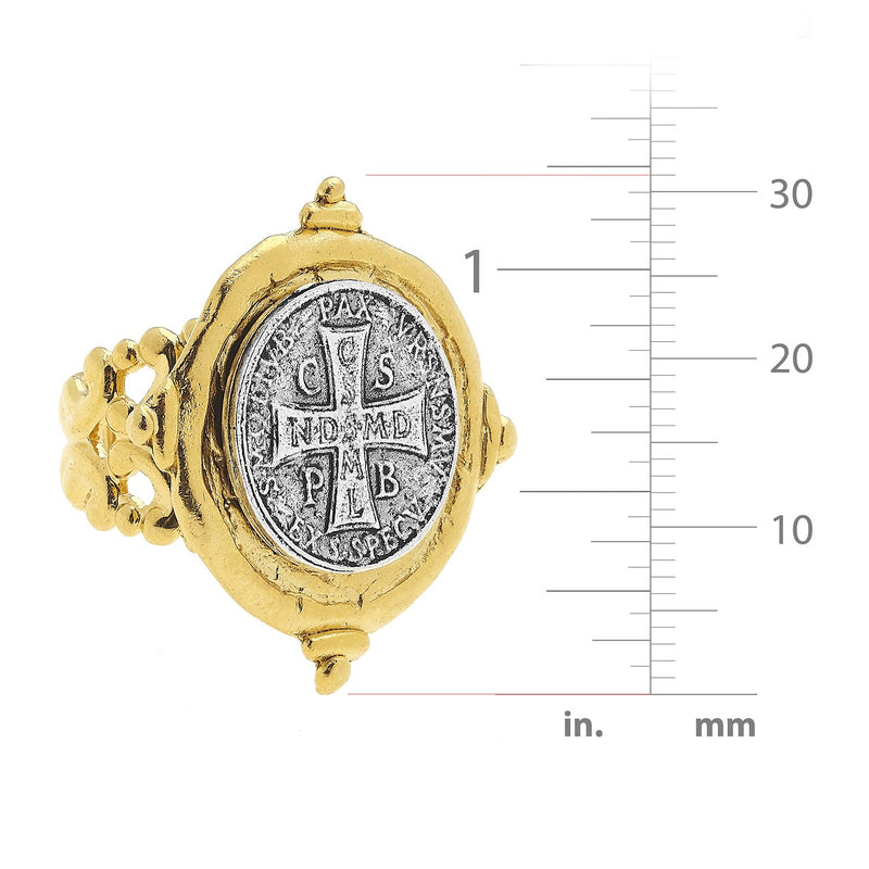 Benedict Cross Ring