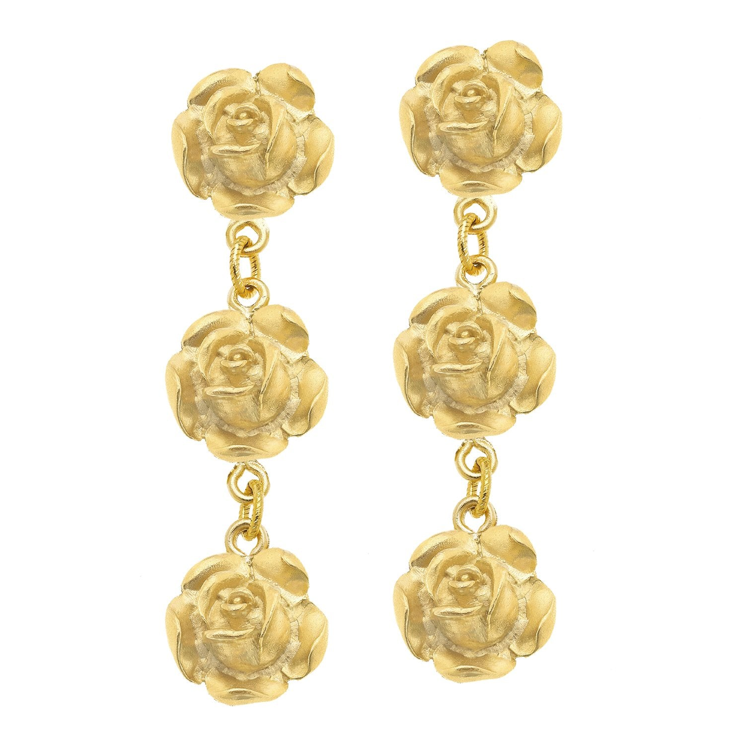 Rose Tier Earrings