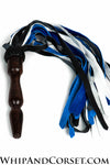 3-tone wood handle flogger