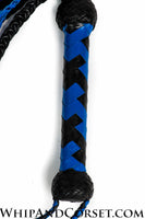 Braided 2-tone cat o' nine tails
