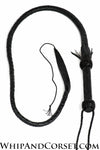 Nagaika bullwhip with twisting handle