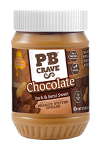 PB Crave Jars - 3 Pack Sweet & Dark Chocolate