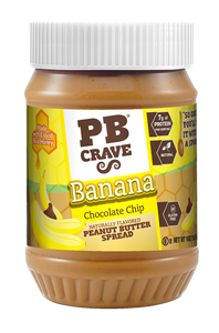 PB Crave Jars - 3 Pack Chocolate Banana