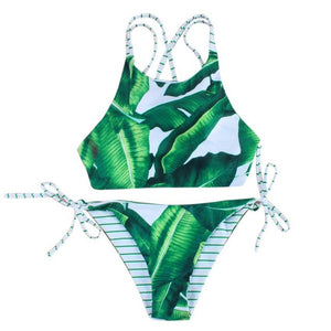 Adjustable Strap Bikini Set Swimsuit