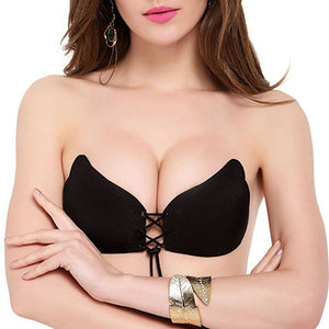 Women Instant Breast Lift Invisible Silicone Push Up Bra