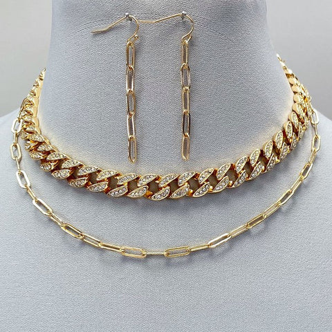 Tatiana Cuban Link Necklace