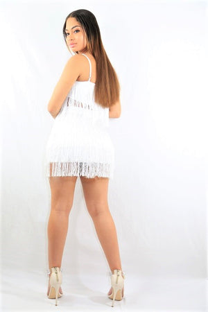 Fringe City Skirt Set