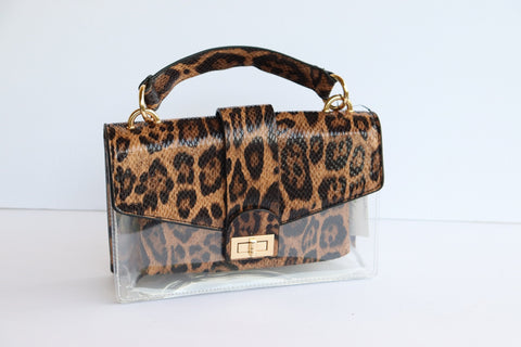 Cheetah Crush Purse | Brown
