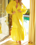 Hello Sunshine Maxi Dress | Yellow