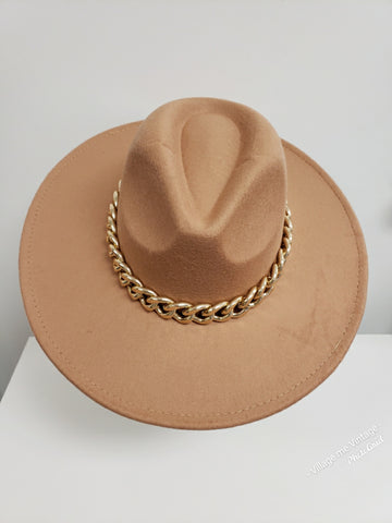 Chain Breaker Hat | Large Links- Caramel