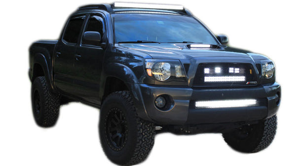 Led light bar off road lights with both side mounting brackets led light bar off road lights with both side mounting brackets aloadofball Image collections