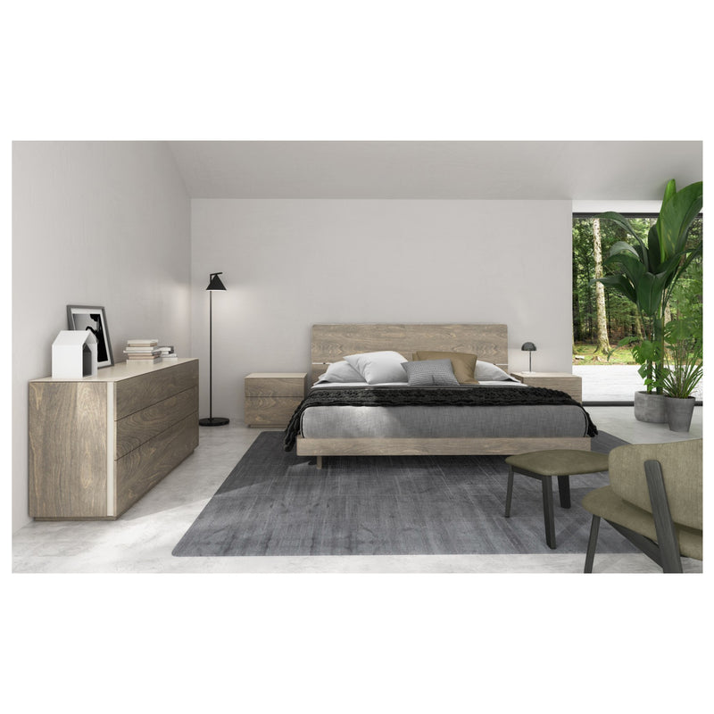 Almada Bed with Integrated Night Tables (comes in multiple sizes)