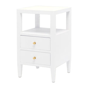 Jarin Nightstand in White 18""