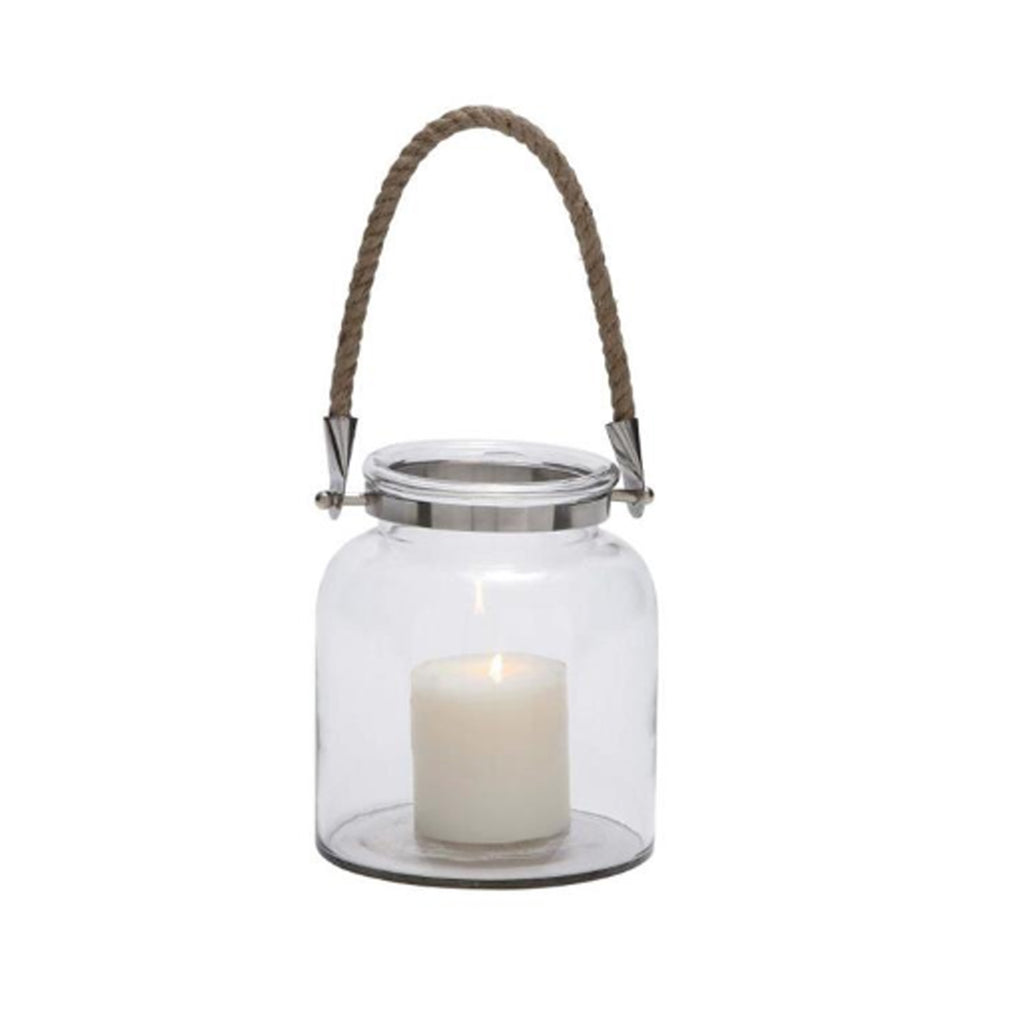 Lantern with Rope Handle