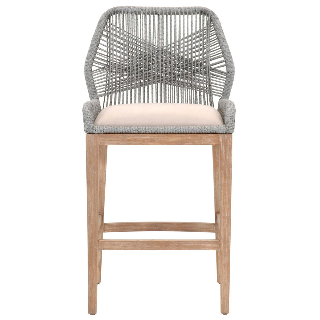 Loom Stool in Platinum
