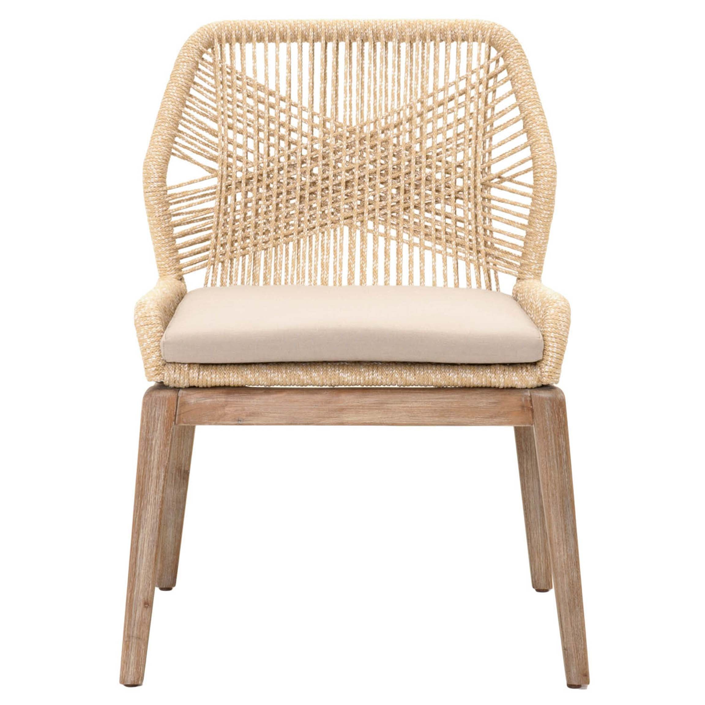Loom Dining Chair in Sand (Set of 2)