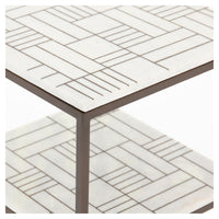 Piet Marble Side Table