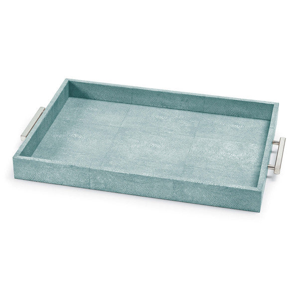 Shagreen Rectangle Tray