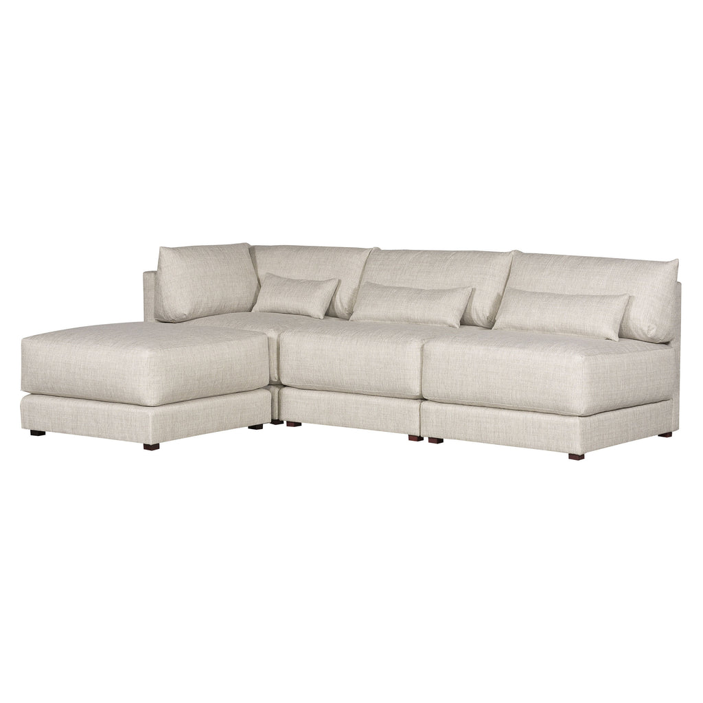 Dove Sectional in Tatz Natural