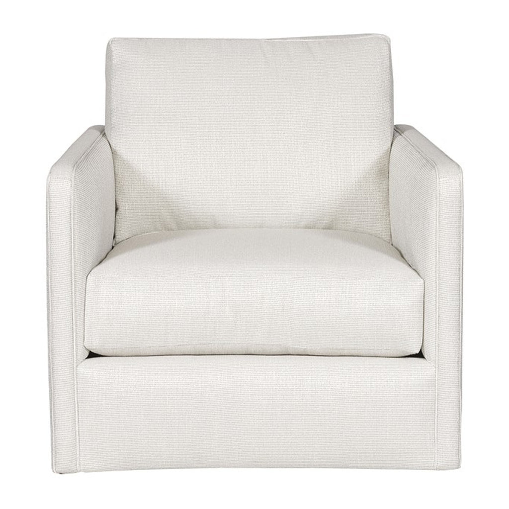 Wynne Swivel Chair in Callaloo Cotton