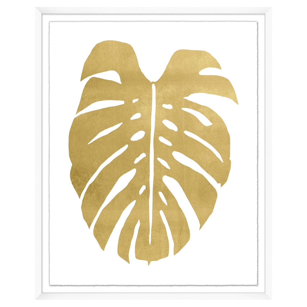 Gold Palm Leaf 1