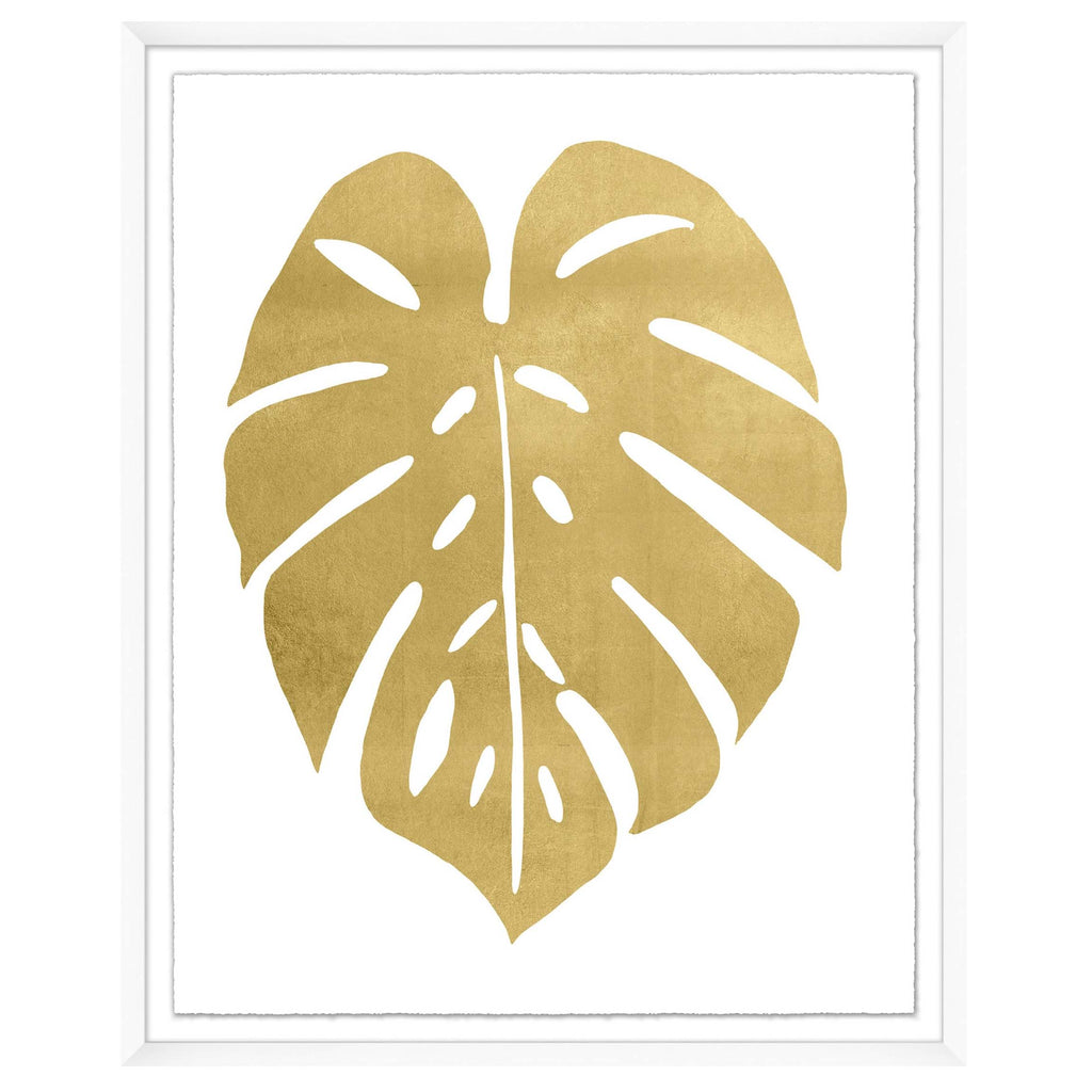 Gold Palm Leaf 2