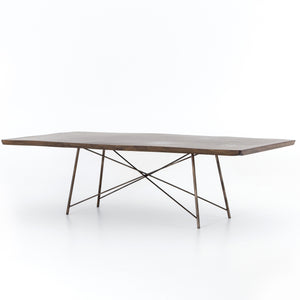 Rocky Bronzed Dining Table