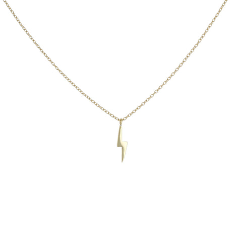 MINI LIGHTNING BOLT NECKLACE
